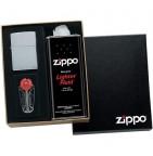 26556 Коробка Zippo подарочная (кремни, бензин)