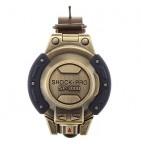 46091 Зажигалка Windmill Shock-Pro SP-3000 Brass Antique