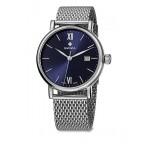 Часы AlZA Gent, синие, сетка WAT.0141.1008