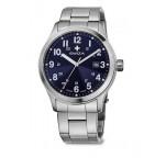 Часы KRETOS Gent, син./металл WAT.0251.1007