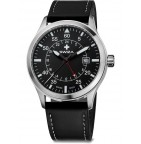 Часы SIRIUZ GMT, черные WAT.0352.1001