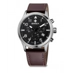 Часы SIRIUZ Chrono, коричневые WAT.0353.1002