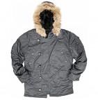 21625 Куртка (Alpha) N-3B Regular Fit metal S зима
