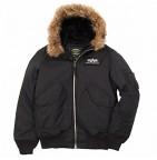 Куртка 45 Hooded X (Alpha) black L / демисезон