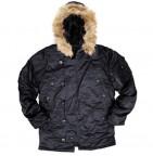 21623 Куртка (Alpha) N-3B Regular Fit black S зима