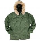 31463 Куртка (Alpha) N-3B Regular Fit sage green S зима
