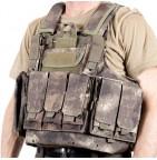 Бронежилет армейский GIRAS камуфляж A-TACS