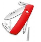 Нож Swiza D04, красный KNI.0040.1000